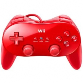 Foto Classic Controller Pro Red WII