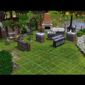 Foto The Sims 3 - Vida Ar Livre (Coleção de Objetos) PC-DVD (Português BR)