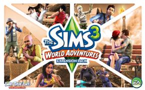 Foto The Sims 3 - Volta ao Mundo (Pacote de Expansão) PC-DVD (Português BR)