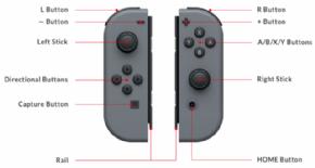 Foto Nintendo Switch Joy-Con (Esquerdo) - Cinza