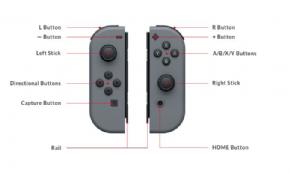 Foto Nintendo Switch Joy-Con (L-R) - Azul e Vermelho
