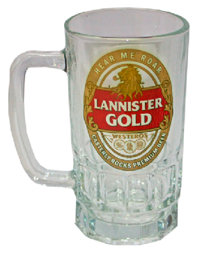 Foto Caneca Chopp - Games of Thrones - Lannister Gold