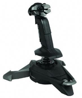 Foto Joystick Manche Saitek Cyborg V1 Pc Simulador Voo