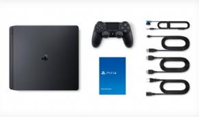 Foto Sony Playstation 4 Slim Bundle Uncharted Thiefs End + 02 Jogos - Seminovo - SEM ESTOQUE NÃO CHEGA MAIS