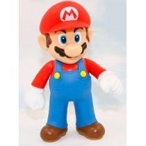 Foto Action Large Figure Super Mario Bros Nintendo Boneco Game -MARIO (Seminovo)
