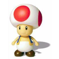 Foto Action Large Figure Super Mario Bros Nintendo Boneco Game - TOAD (Seminovo)