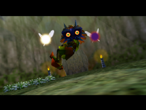 Foto The Legend of Zelda Majoras Mask Collector Edition - Caixa Gigante - (Seminovo) Nintendo 64