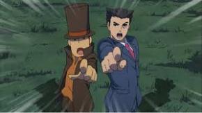 Foto Professor Layton vs Phoenix Wright Nintendo 3DS - Seminovo