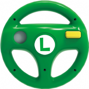 Foto Wheel Hori Wii U - Luigi (Volante Mario Kart 8)