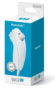 Foto Controle Nunchuk Branco - Nintendo Wii U (Seminovo)