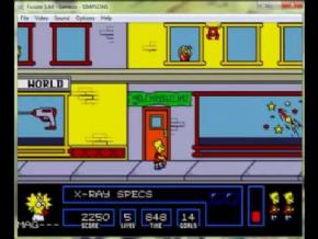 Foto The Simpsons: Bart Vs The Space Mutants (Seminovo) Mega Drive