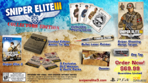 Foto Sniper Elite III Collectors Edition PS4