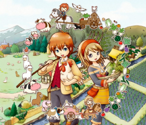 Foto Harvest Moon 3D - The Tale of Two Towns (Seminovo) 3DS