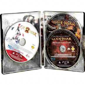 Foto God of War Omega Case Personalizada PT BR PS3