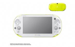 Foto PlayStation Vita SLIM Lime Green + 16GB + 3 Anos Garantia ZG! (Seminovo)