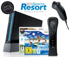 Foto Nintendo Wii Preto Retrocompatível (Seminovo)