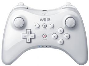 Foto Controle Pro Wii U Branco - Original Nintendo
