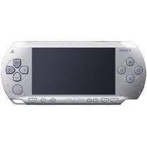 Foto PSP Prata 2001 Sony (Seminovo)+ 1 Ano de Garantia ZG!