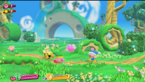 Foto Kirby Star Allies Nintendo Switch - Seminovo