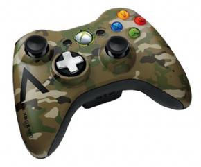 Foto Controle XBOX 360 Wireless Camouflage (Seminovo)