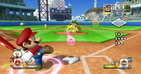 Foto Mario Super Sluggers Wii - Nintendo Selects Com Luva - Seminovo