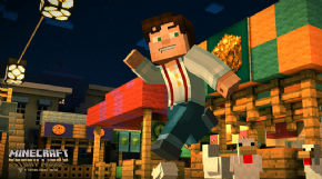 Foto Minecraft: Story Mode (Seminovo) PS4