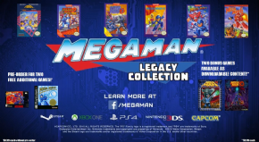 Foto Mega Man Legacy Collection (Seminovo) PS4