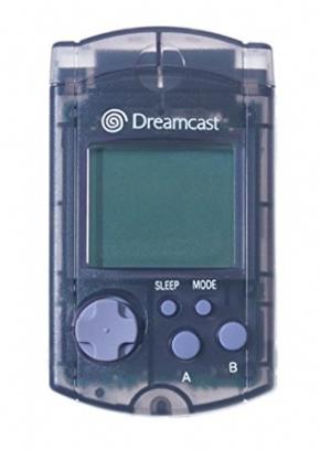 Foto VMU Dreamcast Preto Translucido - Original (Seminovo)