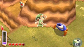 Foto The Legend of Zelda: A Link Between Worlds 3DS Nacional com Luva - Seminovo