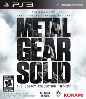 Foto Metal Gear Solid: Legacy COLLECTION PS3