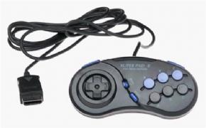 Foto Controle Sega Saturn - Super Pad 8 (Seminovo)