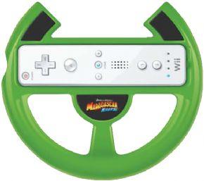 Foto Madagascar Kartz Bundle ( Jogo + Volante ) Wii