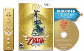 Foto The Legend of Zelda Sword Collectors Edition Bundle 25Th Anniversary (Seminovo) WII