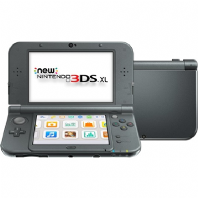 Foto New Nintendo 3DS XL Black + 3 Anos de Garantia ZG! (Seminovo)