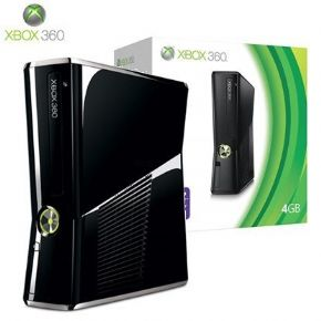 Foto XBOX 360 Slim 4GB Destravado LT 3.0 - Seminovo