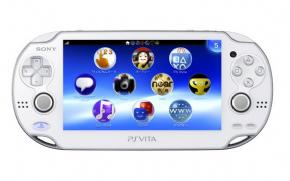 Foto PlayStation Vita Wi-fi Branco + Memory 4GB + 3 Anos Garantia ZG! (Seminovo)