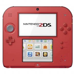 Foto Nintendo 2DS Vermelho + Mario Kart 7