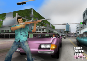 Foto Gran Theft Auto Vice City  (Seminovo) PS2