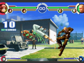 Foto The King of Fighters XI PS2 - Seminovo