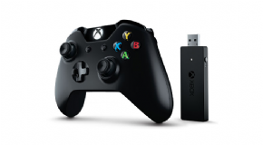 Foto Controle Microsoft Entrada P2 3,5mm Para Fone + Receptor Wireless XBOX ONE/PC