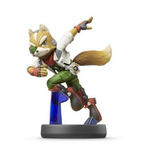 Foto Fox Smash Bros - amiibo - Seminovo