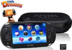 Foto PlayStation Vita Wi-fi/3G + Jogo + Memory Card 4GB + 3 Anos Garantia ZG!