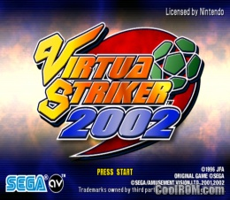 Foto Virtua Striker 2002 (Seminovo) Game Cube