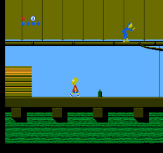 Foto The Simpsons Bart vs World Tectoy (Seminovo) Master System