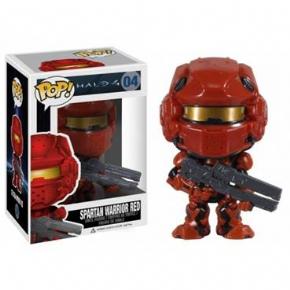Foto PoP! Funko - 04 Halo 4 - Spartan Warrior Red