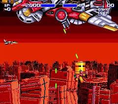 Foto Aero Blaster (Seminovo) Mega Drive