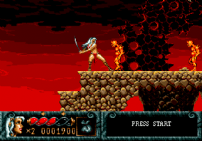 Foto Blades of Vengeance (Seminovo) Mega Drive