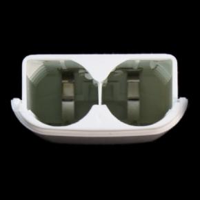 Foto Suporte para Pilhas Controle XBOX 360 - Branco