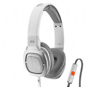 Foto Xbox 360/PC/PS4/XBOX ONE - Fone De Ouvido Com Microfone On Ear J55i Branco / Cinza Jbl