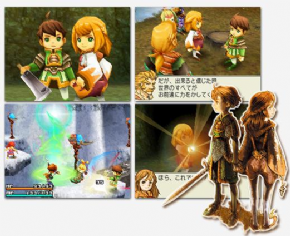 Foto Final Fantasy Crystal Chronicles: Ring of Fates (Seminovo) DS